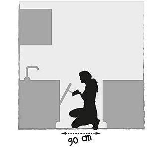 comment choisir l 39 am nagement de sa cuisine placement de meubles mesures plan bonnes. Black Bedroom Furniture Sets. Home Design Ideas